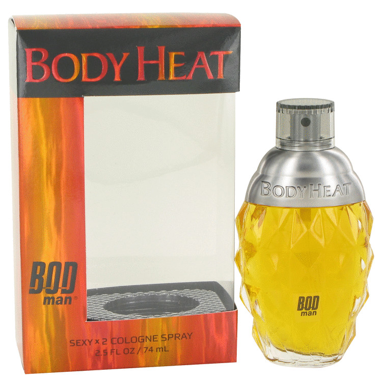 Bod Man Body Heat Sexy X2 by Parfums De Coeur Cologne Spray 2.5 oz for Men