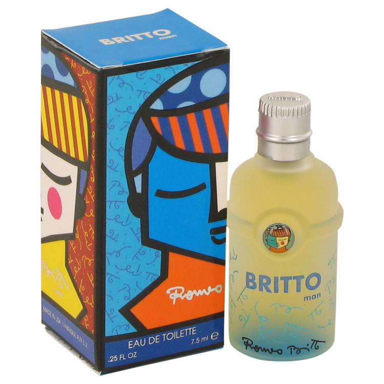 Britto by Romero Britto Mini EDT .25 oz for Men