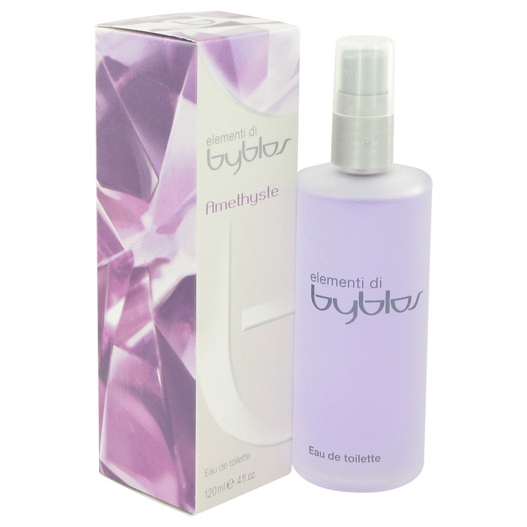 Byblos Amethyste by Byblos Eau De Toilette Spray 4 oz for Women