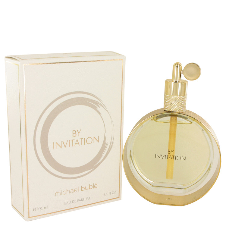 By Invitation by Michael Buble Eau De Parfum Spray 3.4 oz for Women