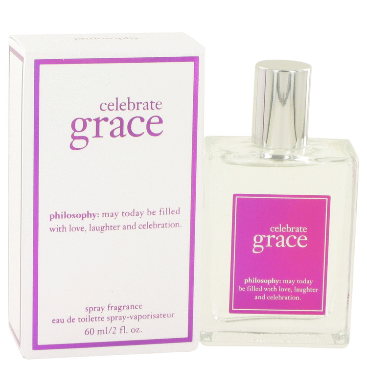 Celebrate Grace by Philosophy Eau De Toilette Spray 2 oz for Women
