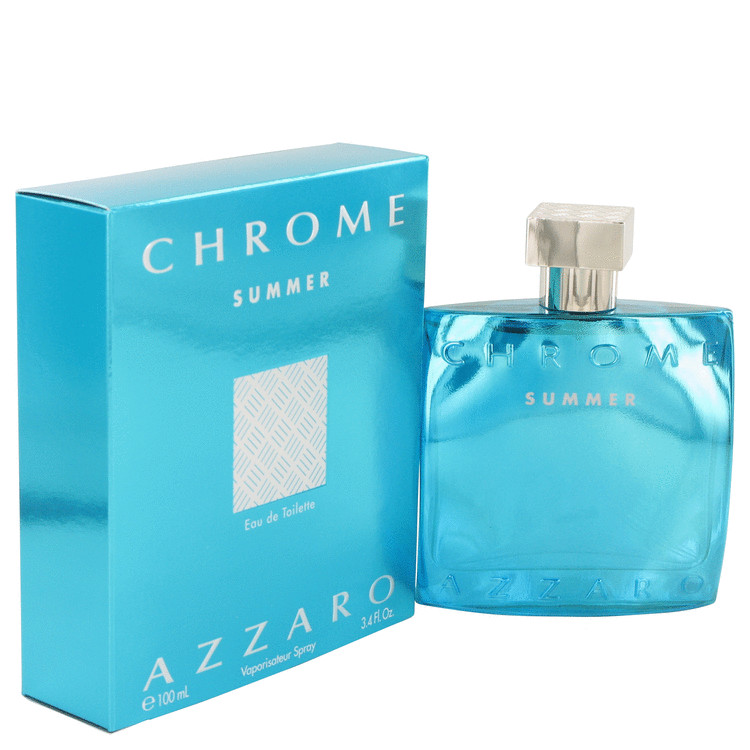 Chrome Summer by Azzaro Eau De Toilette Spray (limited edition 2012) 3.4 oz for Men