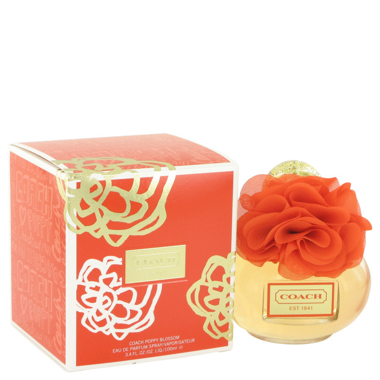 Coach Poppy Blossom by Coach Eau De Parfum Spray 3.4 oz for Women