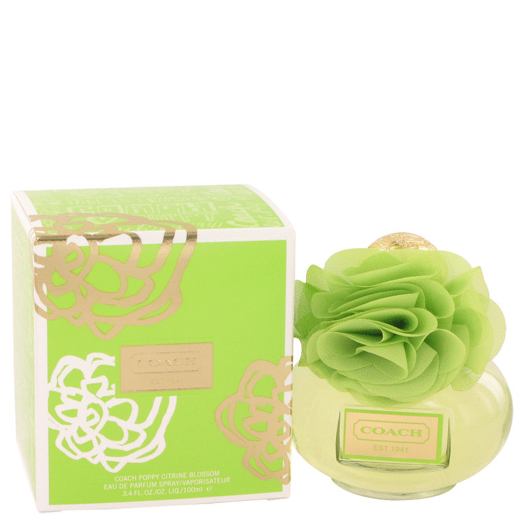 Coach Poppy Citrine Blossom by Coach Eau De Parfum Spray 3.4 oz for Women