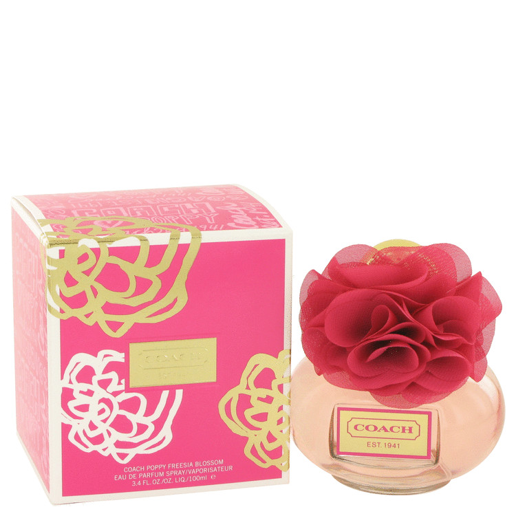 Coach Poppy Freesia Blossom by Coach Eau De Parfum Spray 3.4 oz for Women