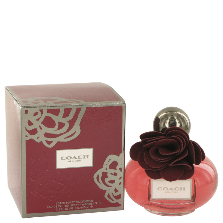 Coach Poppy Wildflower by Coach Eau De Parfum Spray 3.4 oz for Women