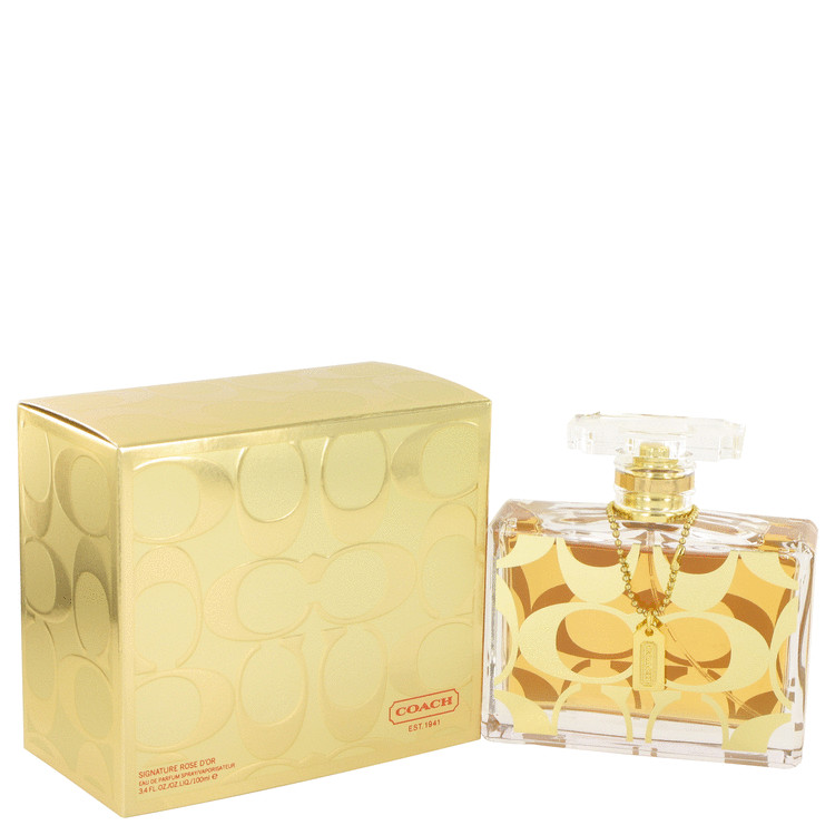 Coach Signature Rose D'Or by Coach Eau De Parfum Spray 3.4 oz for Women
