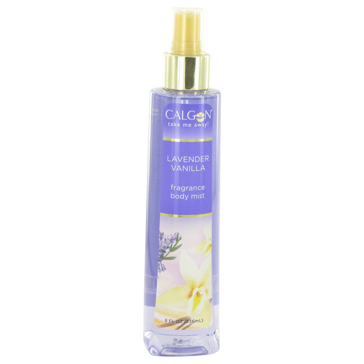 Calgon Take Me Away Lavender Vanilla by Calgon Body Mist 8 oz for Women