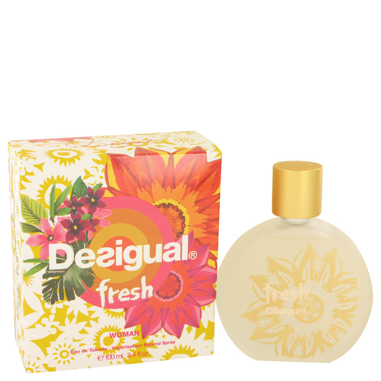 Desigual Fresh by Desigual Eau De Toilette Spray 3.4 oz for Women