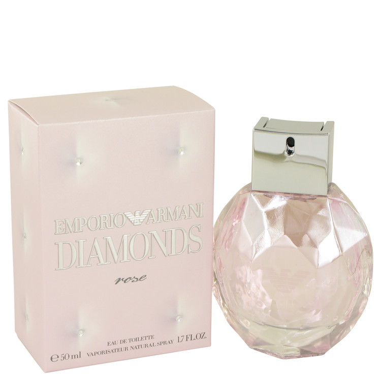 Emporio Armani Diamonds Rose by Giorgio Armani Eau De Toilette Spray 1.7 oz for Women