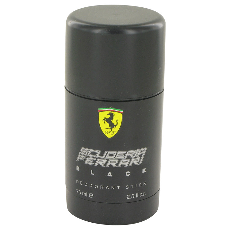 Ferrari Scuderia Black by Ferrari Deodorant Stick 2.5 oz for Men