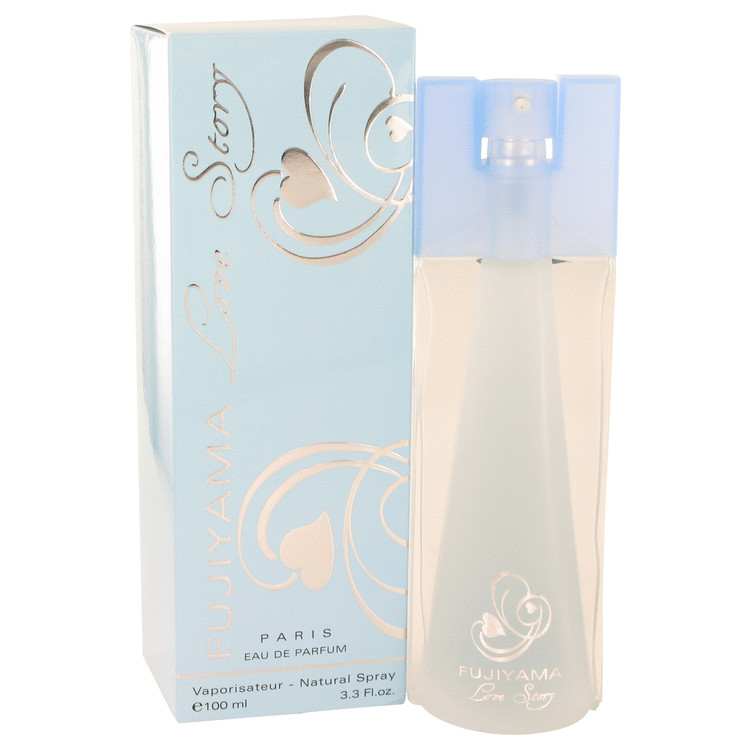 Fujiyama Love Story by Succes De Paris Eau De Parfum Spray 3.3 oz for Women
