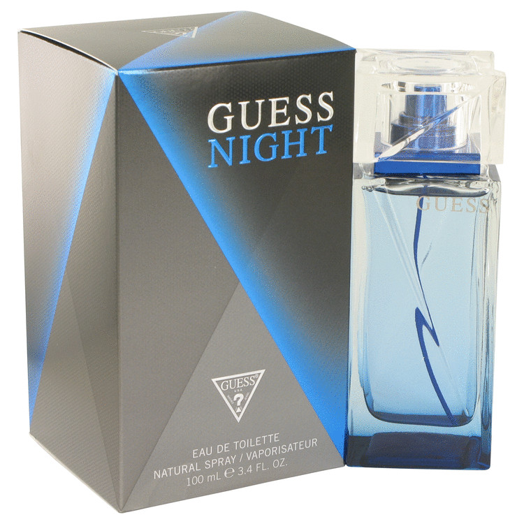Guess Night by Guess Eau De Toilette Spray 3.4 oz for Men