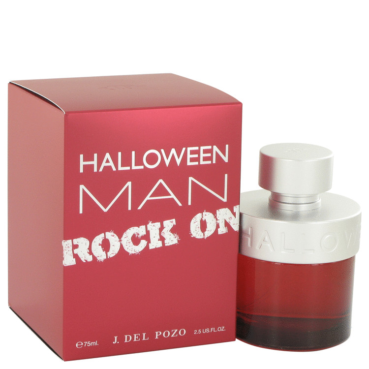 Halloween Man Rock On by Jesus Del Pozo Eau De Toilette Spray 2.5 oz for Men