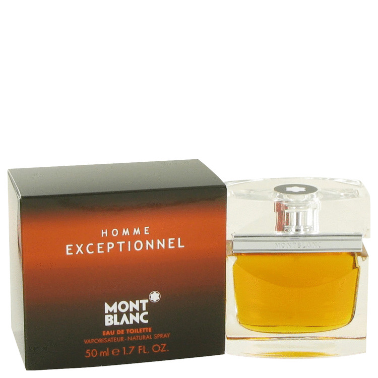 Homme Exceptionnel by Mont Blanc Eau De Toilette Spray 1.7 oz for Men