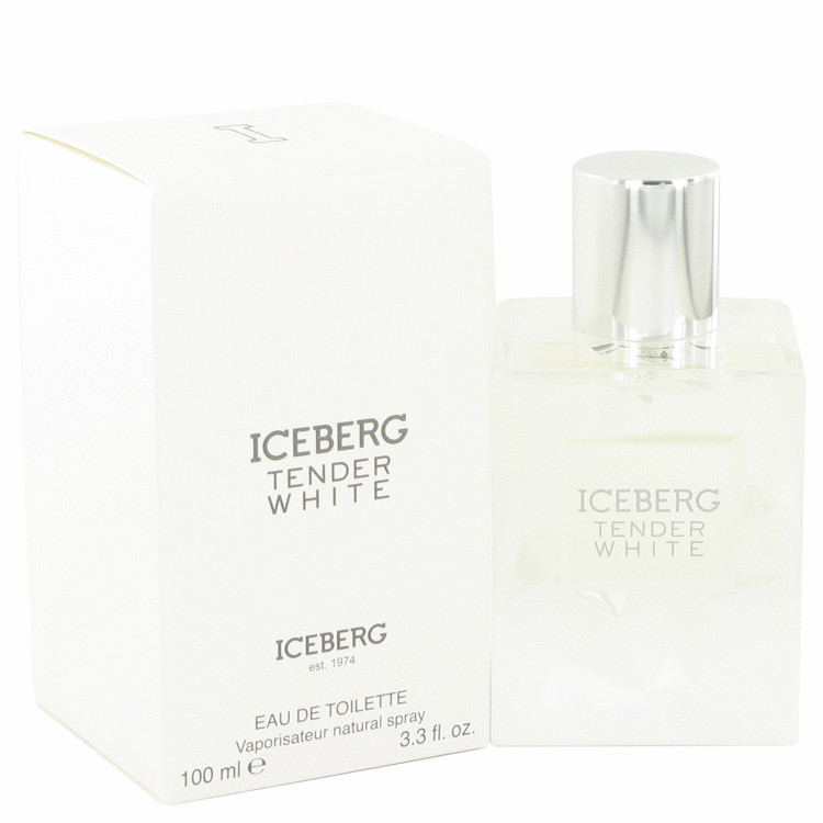 Iceberg Tender White by Iceberg Eau De Toilette Spray 3.3 oz for Women