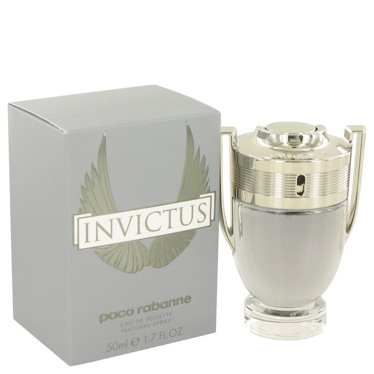 Invictus by Paco Rabanne Eau De Toilette Spray 1.7 oz for Men