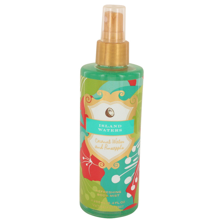 Island Waters by Victoria's Secret Coconut Water and Pinapple Body Mist 8.4 oz for Women