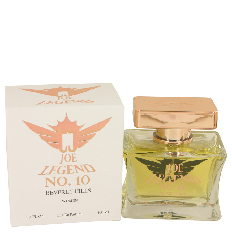 Joe Legend No. 10 by Joseph Jivago Eau De Parfum Spray 3.4 oz for Women