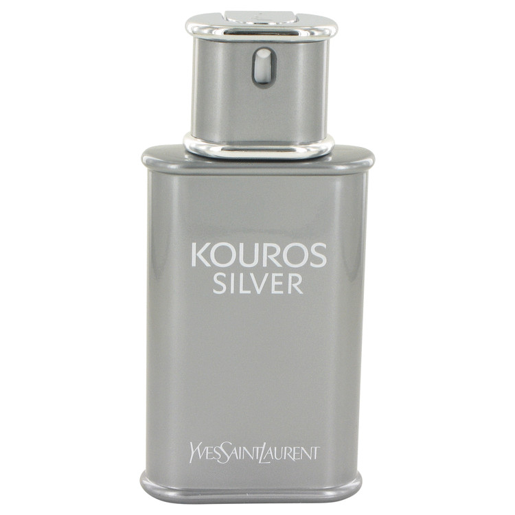 Kouros Silver by Yves Saint Laurent Eau De Toilette Spray (Tester) 3.4 oz for Men