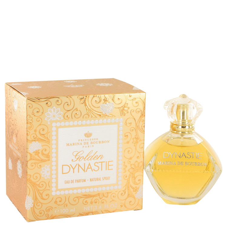 Golden Dynastie by Marina De Bourbon Eau De Parfum Spray 3.4 oz for Women