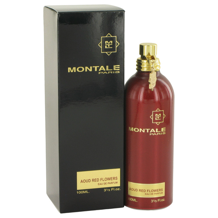 Montale Aoud Red Flowers by Montale Eau De Parfum Spray 3.3 oz for Women