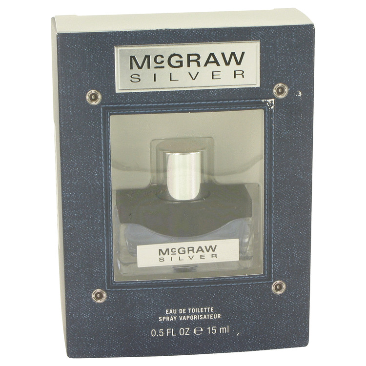 McGraw Silver by Tim McGraw Eau De Toilette Spray .5 oz for Men