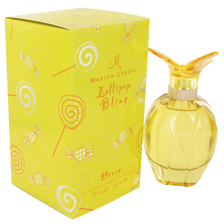 Mariah Carey Lollipop Bling Honey by Mariah Carey Eau De Parfum Spray 3.4 oz for Women