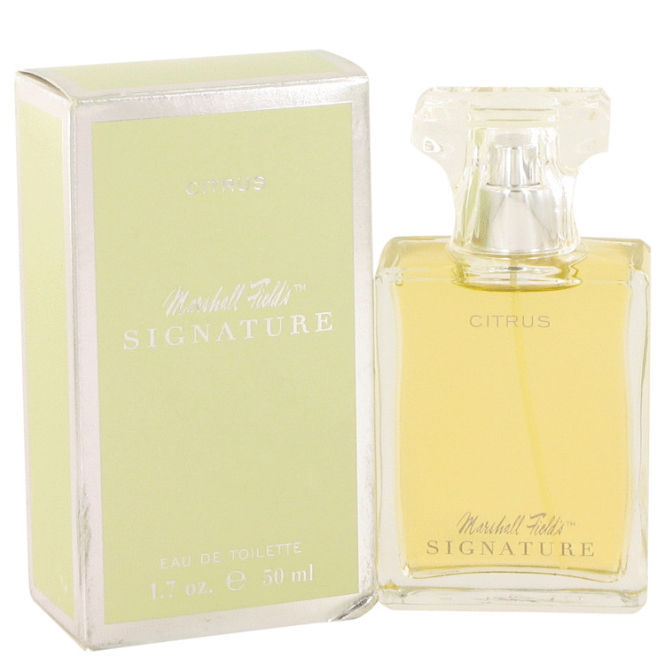 Marshall Fields Signature Citrus by Marshall Fields Eau De Toilette Spray (Scratched box) 1.7 oz for Women