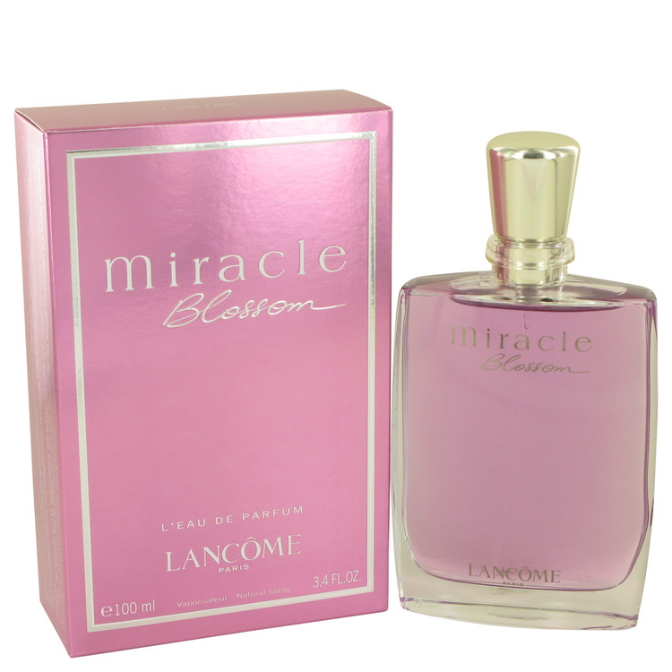 Miracle Blossom by Lancome Eau De Parfum Spray 3.4 oz for Women
