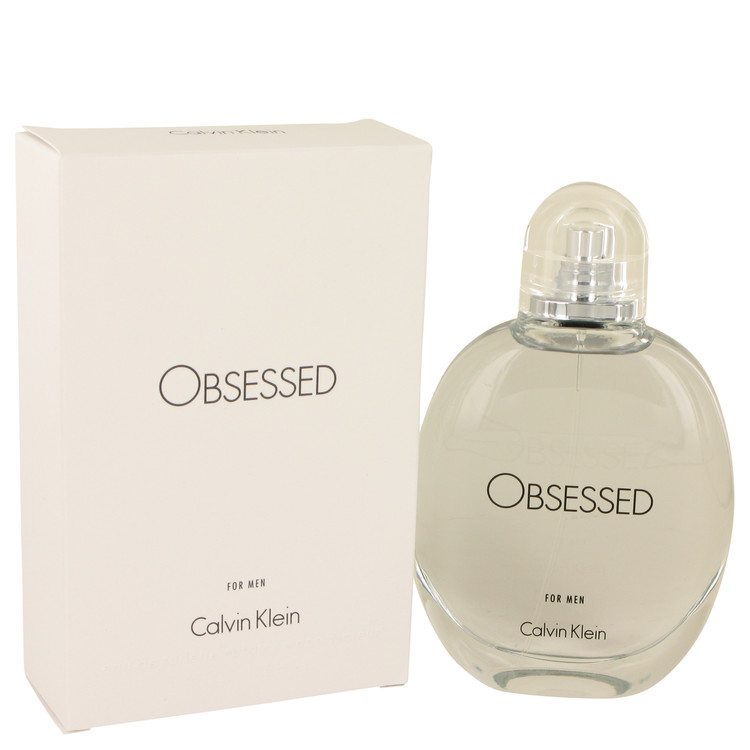 Obsessed by Calvin Klein Eau De Toilette Spray 4.2 oz for Men