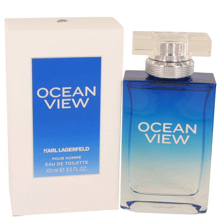 Ocean View by Karl Lagerfeld Eau De Toilette Spray 3.3 oz for Men