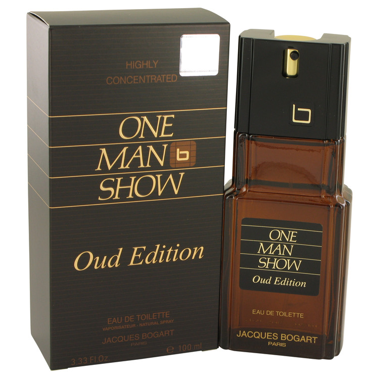 One Man Show Oud Edition by Jacques Bogart Eau De Toilette Spray 3.4 oz for Men