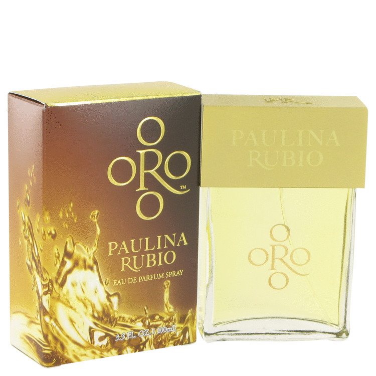 Oro Paulina Rubio by Paulina Rubio Eau De Parfum Spray 3.3 oz for Women