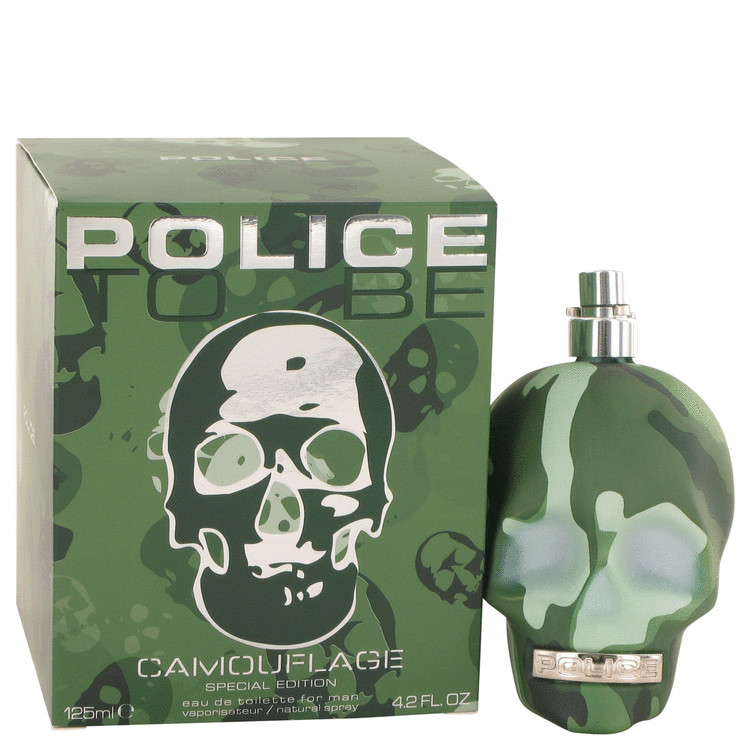 Police To Be Camouflage by Police Colognes Eau De Toilette Spray (Special Edition) 4.2 oz for Men
