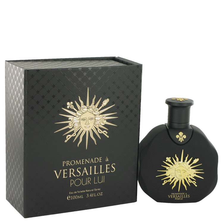 Promenade a Versailles Pour Lui by Parfums Du Chateau De Versailles Eau De Toilette Spray 3.4 oz for Men