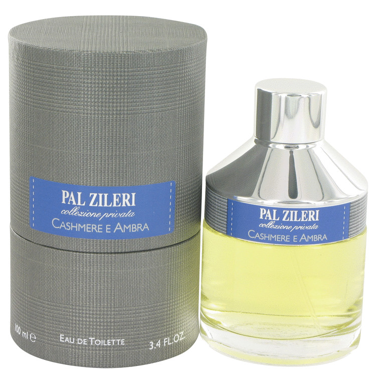 Pal Zileri Cashmere E Ambra by Mavive Eau De Toilette Spray 3.4 oz for Men