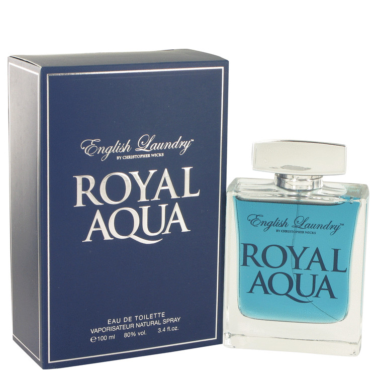 Royal Aqua by English Laundry Eau De Toilette Spray 3.4 oz for Men