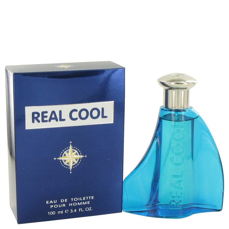 Real Cool by Victory International Eau De Toilette Spray 3.4 oz for Men