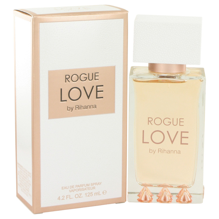 Rihanna Rogue Love by Rihanna Eau De Parfum Spray 4.2 oz for Women
