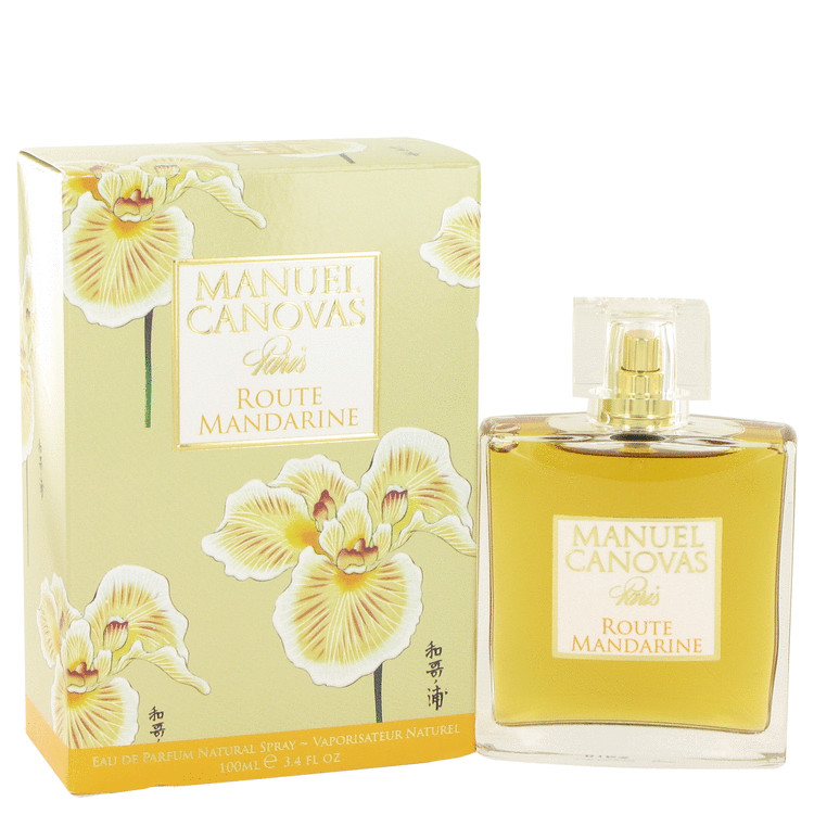 Route Mandarine by Manuel Canovas Eau De Parfum Spray 3.4 oz for Women