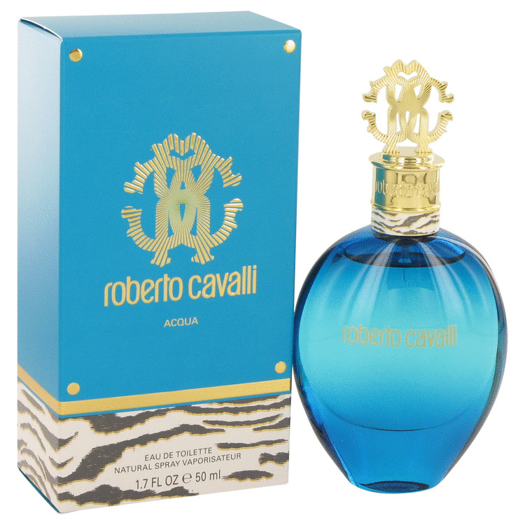 Roberto Cavalli Acqua by Roberto Cavalli Eau De Toilette Spray 1.7 oz for Women