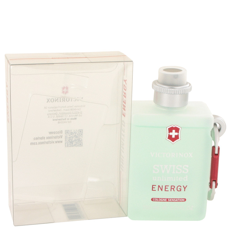 Swiss Unlimited Energy by Victorinox Cologne Spray 5 oz for Men
