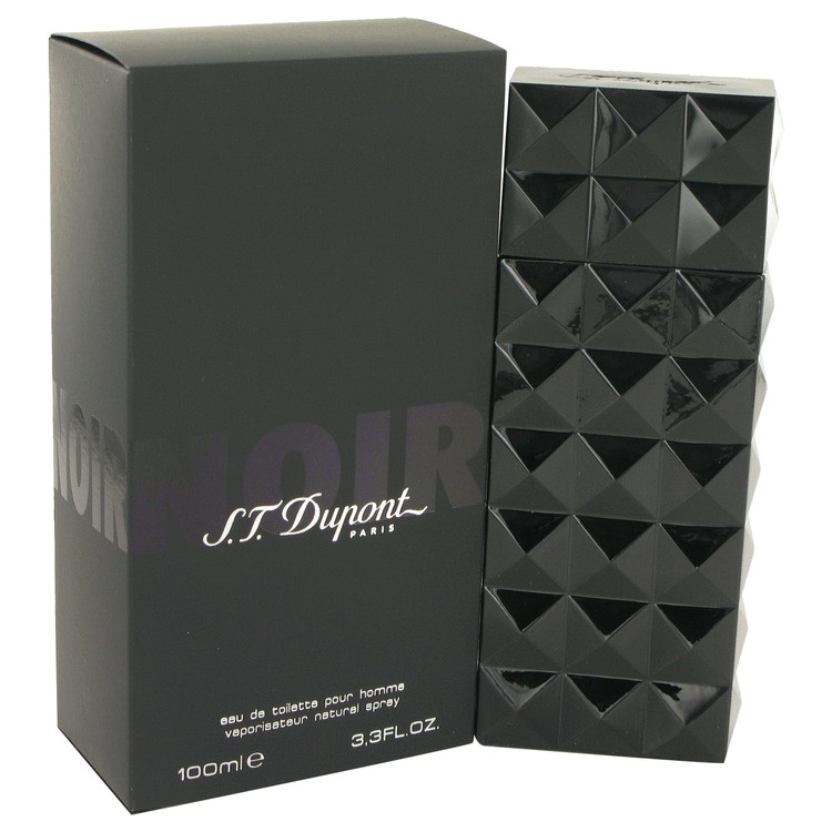 St Dupont Noir by St Dupont Eau De Toilette Spray 3.3 oz for Men