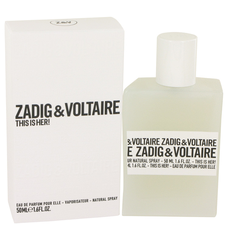 This is Her by Zadig & Voltaire Eau De Parfum Spray 1.6 oz for Women