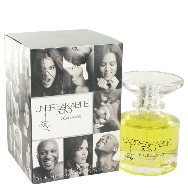Unbreakable Bond by Khloe and Lamar Eau De Toilette Spray (unisex) 3.4 oz for Men