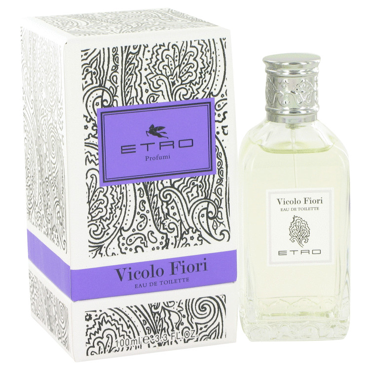 Vicolo Fiori by Etro Eau De Toilette Spray 3.3 oz for Men