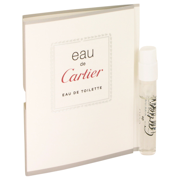 EAU DE CARTIER by Cartier Vial (sample) .05 oz for Women