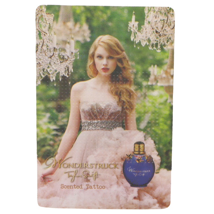 Wonderstruck by Taylor Swift Scented Tattoo 1 pc for Women