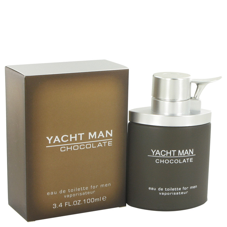 Yacht Man Chocolate by Myrurgia Eau De Toilette Spray 3.4 oz for Men
